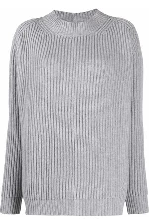 THE ANDAMANE Ribbed-knit wool-cashmere jumper - Grey