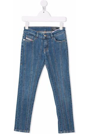Diesel Kids Mid-rise skinny jeans