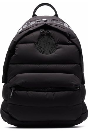 Moncler Logo-patch feather-down padded backpack
