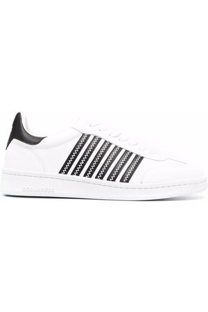 Dsquared2 Stripe pattern lace-up sneakers