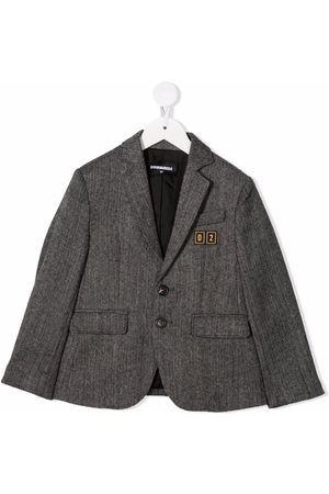 Dsquared2 Kids Single-breasted fitted blazer