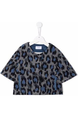 PAADE MODE Leopard-print collarless jacket