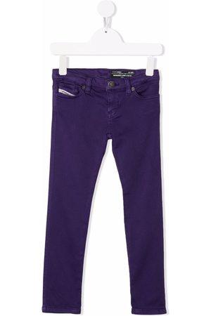 Diesel Kids Low-rise skinny trousers