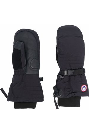 Canada Goose Logo-patch feather-down gloves