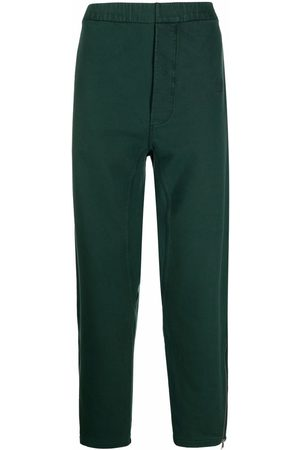 Maison Margiela Men Straight Leg Pants - Ankle-zips straight-leg trousers