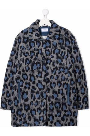 PAADE MODE Leopard print button-down coat