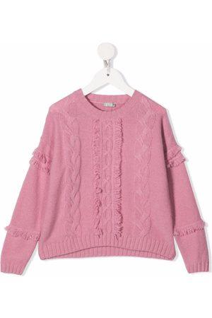 Il Gufo Cable-knit wool jumper