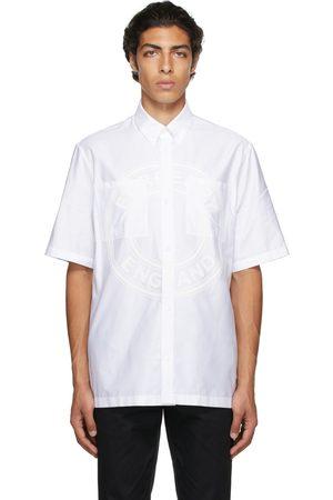 Burberry Poplin Logo Short Sleeve Shirt