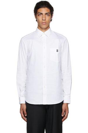 Burberry Poplin Monogram Motif Shirt