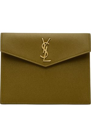 Saint Laurent Bags - Green Uptown Baby Pouch