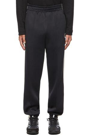 Dunhill Men Sweats - Black Nylon Jersey Lounge Pants