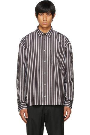 Études Men Shirts - Brown Address Shirt