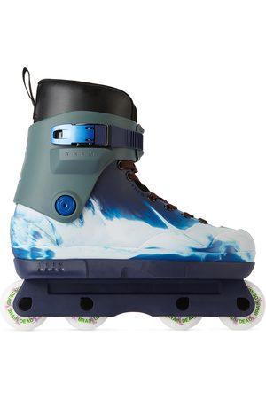 THEM SKATES Blue Brain Dead Edition Them 909 Complete Inline Skates