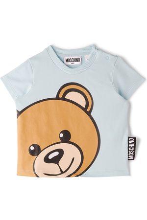 Moschino T-shirts - Baby Blue Teddy Bear T-Shirt
