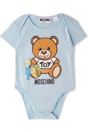 Moschino Baby Blue Toy Keys Teddy Bodysuit