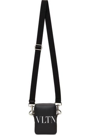 VALENTINO GARAVANI Black Small 'VLTN' Crossbody Bag