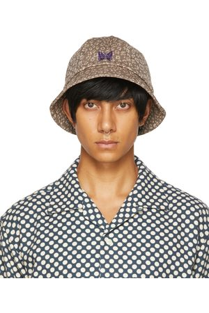 Pins & Needles Beige Jacquard Bucket Hat