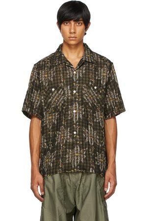 Pins & Needles Men Short sleeves - Multicolor Flower Plaid Short Sleeve Shirt