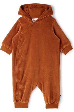 Molo Rompers - Baby Brown Forest Bodysuit
