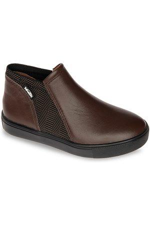Venettini Little Boy's Leather Slip-On Sneakers