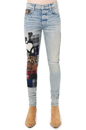 AMIRI Art Patch Skinny Jeans