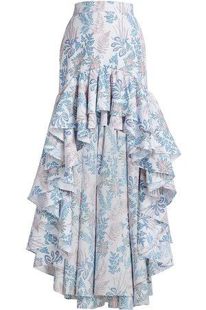 No Pise La Grama Algeria High-Low Skirt