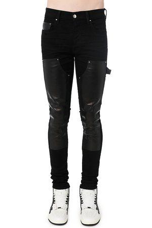 AMIRI Denim & Leather Workman Pants