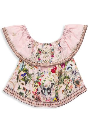 Camilla Little Girl's & Girl's Off-The-Shoulder Top