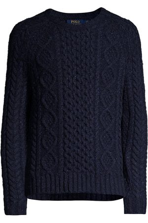 Ralph Lauren Speckled Cable-Knit Sweater