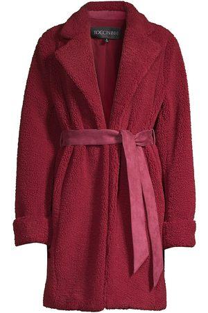 Toccin Teddy Wrap Coat