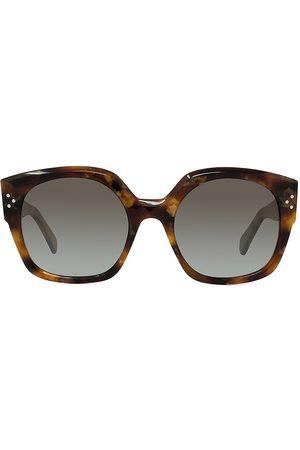 Céline 55MM Round Sunglasses