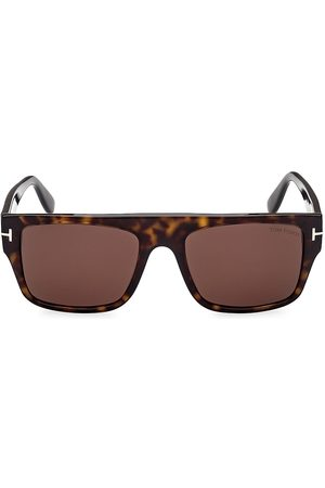 Tom Ford Dunning 55MM Rectangular Sunglasses