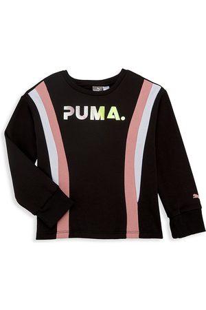PUMA Girl's Logo Sweatshirt