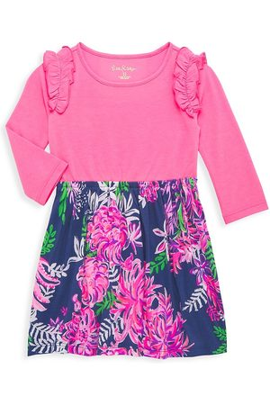 Lilly Pulitzer Little Girl's & Girl's Ruffle Floral Print Dress