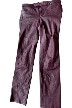 Helmut Lang Leather straight pants