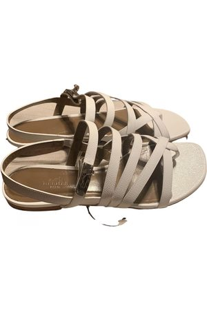Hermès Leather sandal