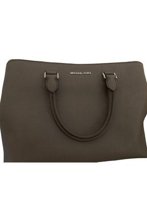 Michael Kors Leather bowling bag