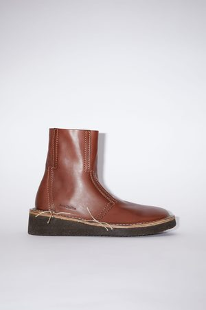 Acne Studios FN-MN-SHOE000155 Leather ankle boots