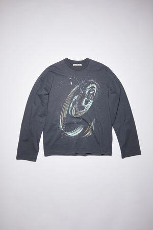 Acne Studios Men T-shirts - FN-MN-TSHI000345 Black hole t-shirt