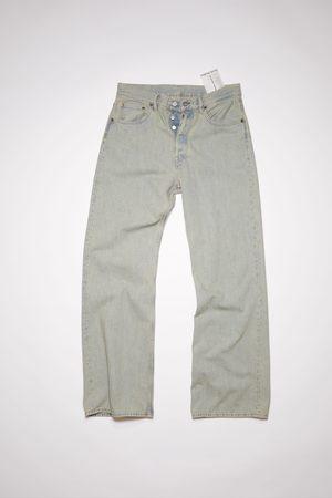 Acne Studios 2021F Earth /beige Loose bootcut jeans