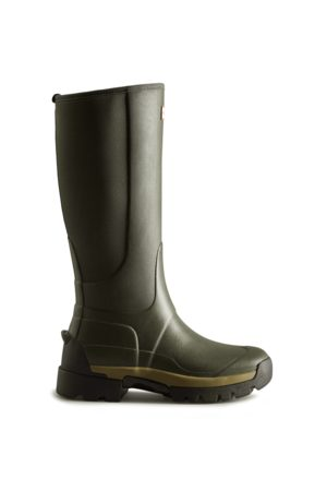 Hunter Women Thigh High Boots - Women's Balmoral Hybrid Tall Rain Boots