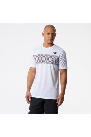 Men Short sleeves - New Balance Men's Printed Tournament Crew