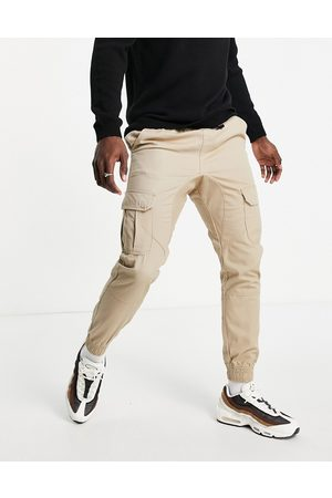 Another Influence Cargo pants in stone-Neutral