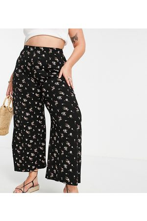 Yours Wide leg pants in floral