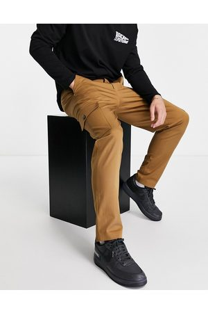 Selected Homme Slim tapered cargo pants in tan