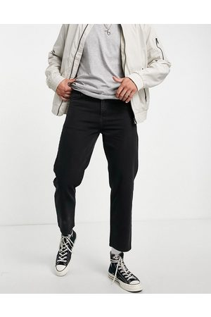 Religion Straight cropped rigid jeans in vintage
