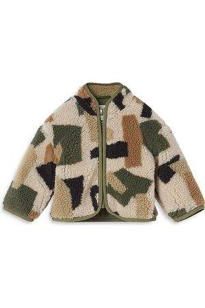 Stella McCartney Boys' Camo Teddy Coat - Baby