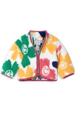 Stella McCartney Coats - Girls' Smiley Flowers Teddy Coat - Baby