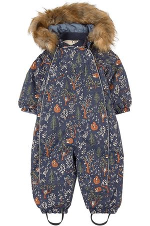 Kuling Mighty Forest Val D'Isere Snowsuit - 74 cm - - Winter coveralls