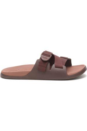 Chaco Men Sandals - Men's Chillos Slide Chocolate, Size 7 Medium Width